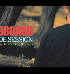 Longboard Slide Session at Montestella